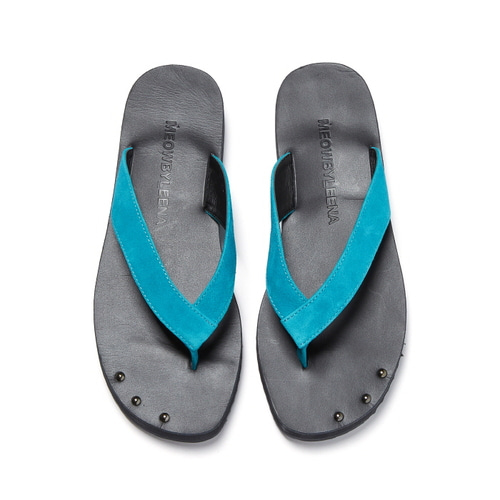 MW Thong Sandal with anklet(BLUE)