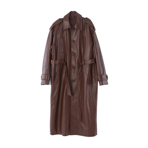 Belted Trench coat_ BRW