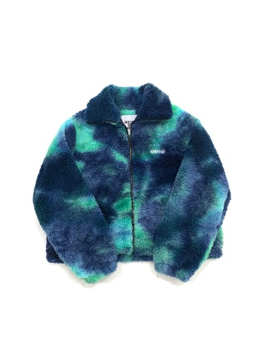 TIE - DYE FREECE JK _ BLUE