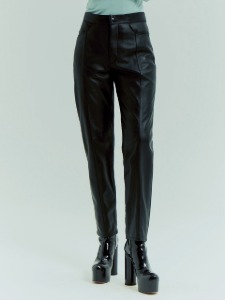 LINE SLIM FIT PANTS _ BLACK