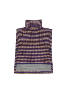 TURTLE NECK VEST _ PURPLE